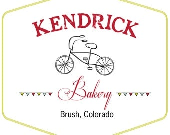 Personalized Bakery Iron On Transfer - Color