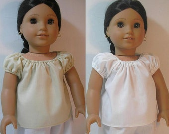 1824-1031, 18 Inch Doll Clothing Camisa for Josefina