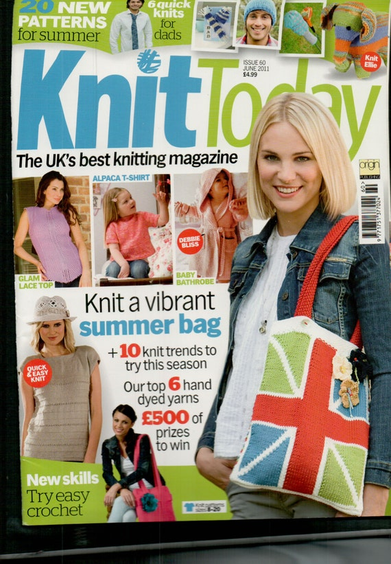 Knit Today Knitting Magazine Issue 60 June 2011