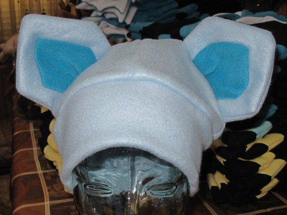 glaceon fleece hat by - photo #20