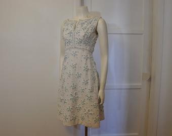 60s dress / Vintage 1960's Mod Cocktail Party Dress