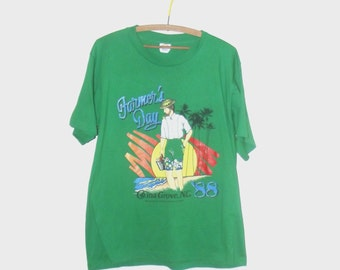 1980s t shirt / vintage 80s tshirt / extra large xl / Farmer 's Day Vintage T-Shirt