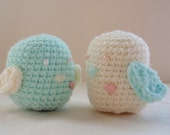 Crochet Valentine Love Birds