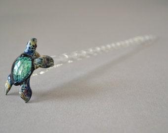 Sea Turtle Hair Stick  Hair Pick accessory