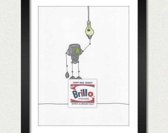 Mike Slobot   Art   BrilloBot
