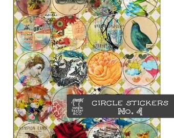 Circle Stickers No. 4