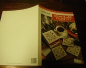 Christmas Plastic Canvas Patterns Snowflake Coasters Needlecraft Shop 913321 Fran Rohus Plastic Canvas Pattern Leaflet