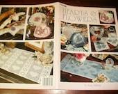 Thread Crochet Hearts and Flowers Leisure Arts 3079 Anne Halliday Crochet Pattern Leaflet