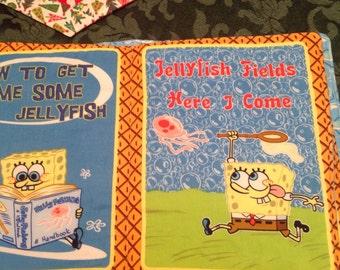 Sponge Bob fabric book