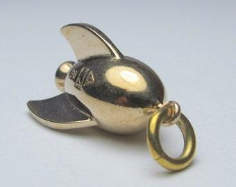 rocket necklace Bronze steampunk