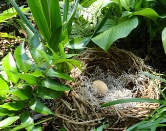 Wild Vine Basket Nest, Garden Pod, Nature Inspired Decor, Baby Shower Decoration, Home Decor Basket