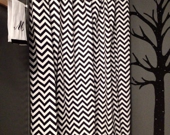 navy chevron curtains on etsy a global handmade and