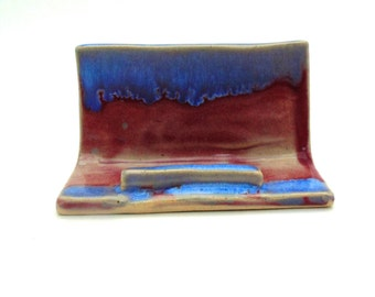 Pottery Business Card Holder