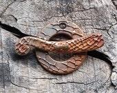 Bronze Reptilian Toggle