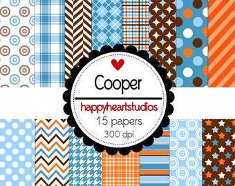 Digital Scrapbook Cooper -INSTANT DOWNLOAD