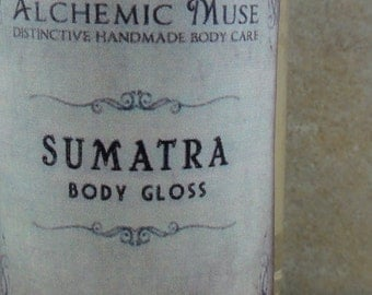 Sumatra - Body Gloss - Hot Ginger, Sumatra Coffee, Coconut Milk