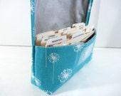 Coupon Organizer, Coupon Holder, Ready to Ship, Coupon Binder, Coupon Purse, Receipt Holder, Dandelion Fabric
