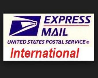 INTERNATIONAL EXPRESS SHIPPING