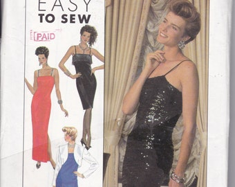 OOP/New 1989 Simplicity 9449 Easy to Sew Dress for Sizes 16-24