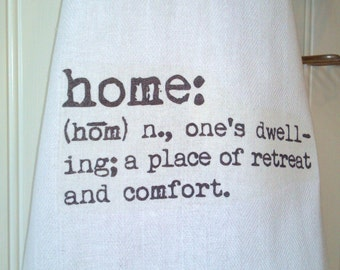 Home Kitchen Tea Towel, Home Dictionary Definition Kitchen Towel
