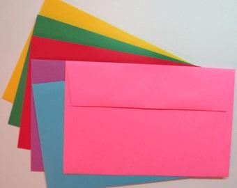 PE60  25pk. A9 60 lb.Color Envelopes 8 3/4 x 5 3/4 (22.23cm x 14.61cm)