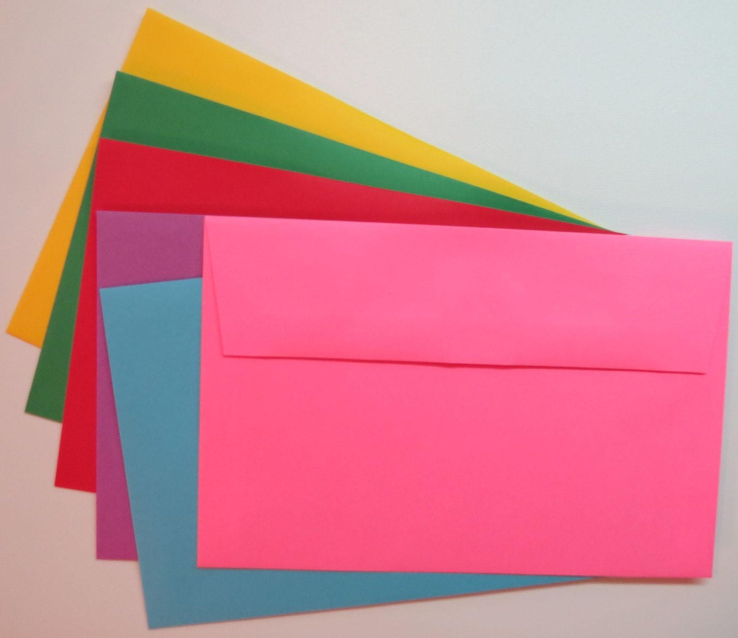 pe60 25pk  a9 60 lb color envelopes 8 3  4 x 5 3  4  22 23cm x 14 61cm  from clearbagsrus on etsy