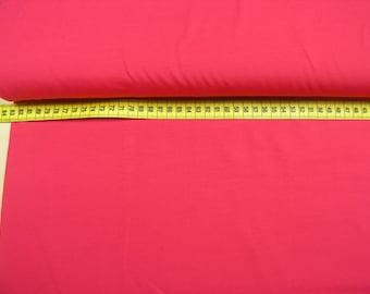 Jersey uni • pink • Cotton Jersey Knit Fabric 0.54yd (0.5m) 002019