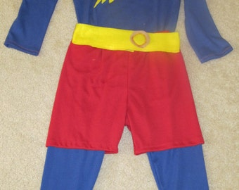 Captain huggy face Word girl inspired costume/