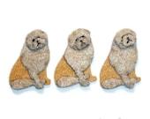 PUG Felt Dog Shape for Bead Embroidery, Making Beaded Animals, Beading, Crafting, or Embellishment / Free US Shipping