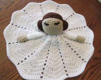 Princess Security Blanket Lovey Doll