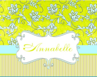 custom personalized stationery classic  elegant  monogram notecards  thanks you notes  shower gift  monogram note cards wedding