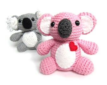 Koala Crochet Pattern: Instant Download -PDF-