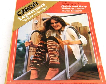 Vintage Legwarmers to Knit or Crochet Kit (1982)