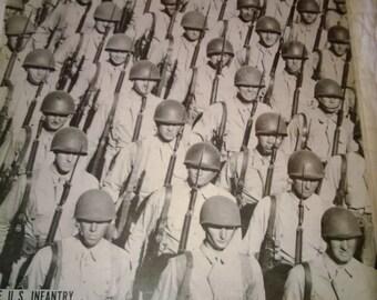 Antique LIFE Magazine June 5 1944 The US Infantry