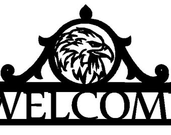 Eagle Welcome Sign (B30)