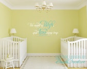 """We made a Wish and Two came true Vinyl Wall Decal for twins XLRG 109-48"""""""
