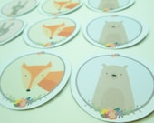 Sweet Critter Stickers