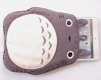 Totoro iPad mini with retina display soft case Grey gray