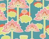 Monaluna, Organic Knit Cotton Fabric, Lotus Blossom , Raaga Knits, by the half-yard