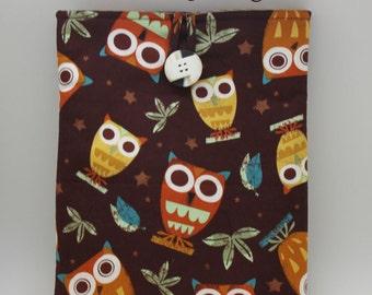 Owls ipad Sleeve, ipad Cover, ipad Protector