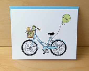 Baby Bike Baby Card