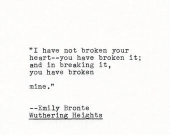 bronte quotes quotesgram