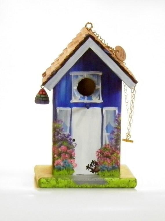 maison de l 39 oiseau bleu avec swing et de la ruche la. Black Bedroom Furniture Sets. Home Design Ideas