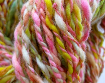handspun yarn, Citrus Grove