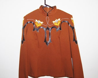 Vintage Show Shirt Earthy Brown by Hobby Horse