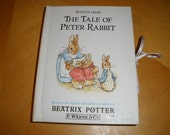 Scenes From The TALE of PETER RABBIT - Based on the Original and Authorized Edition by Beatrix Potter - Vintage Book