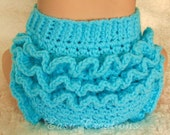 PDF CROCHET PATTERN Ripples and Ruffles textured Diaper Cover Preemie/Newborn, 0-3 mo, 3-6 mo