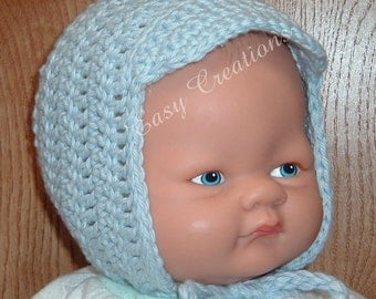 CROCHET PATTERN Baby Boy Visor Hat bonnet babies brim 0 to 3 mo skill level intermediate