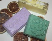 3 SPRINGTIME SCENTED SOAP