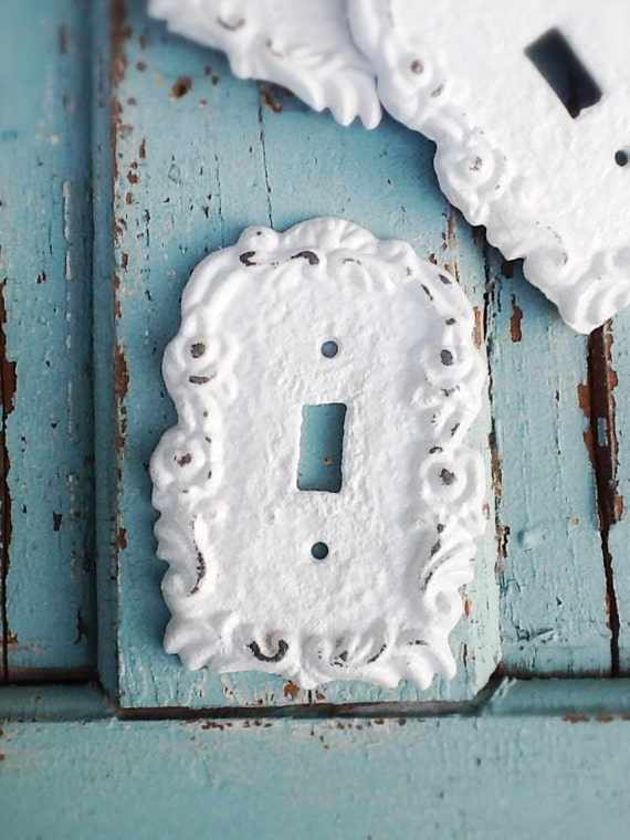 Light switch cover cast iron decor victorian home by camillacotton - Wrought iron switch plate covers ...